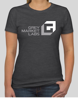 Women's grey T-Shirt front side